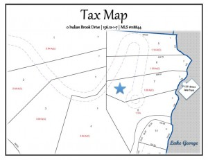 Indian Brook Drive Tax Map