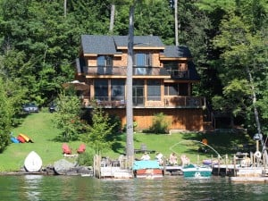 38 Horicon Ln, from the water