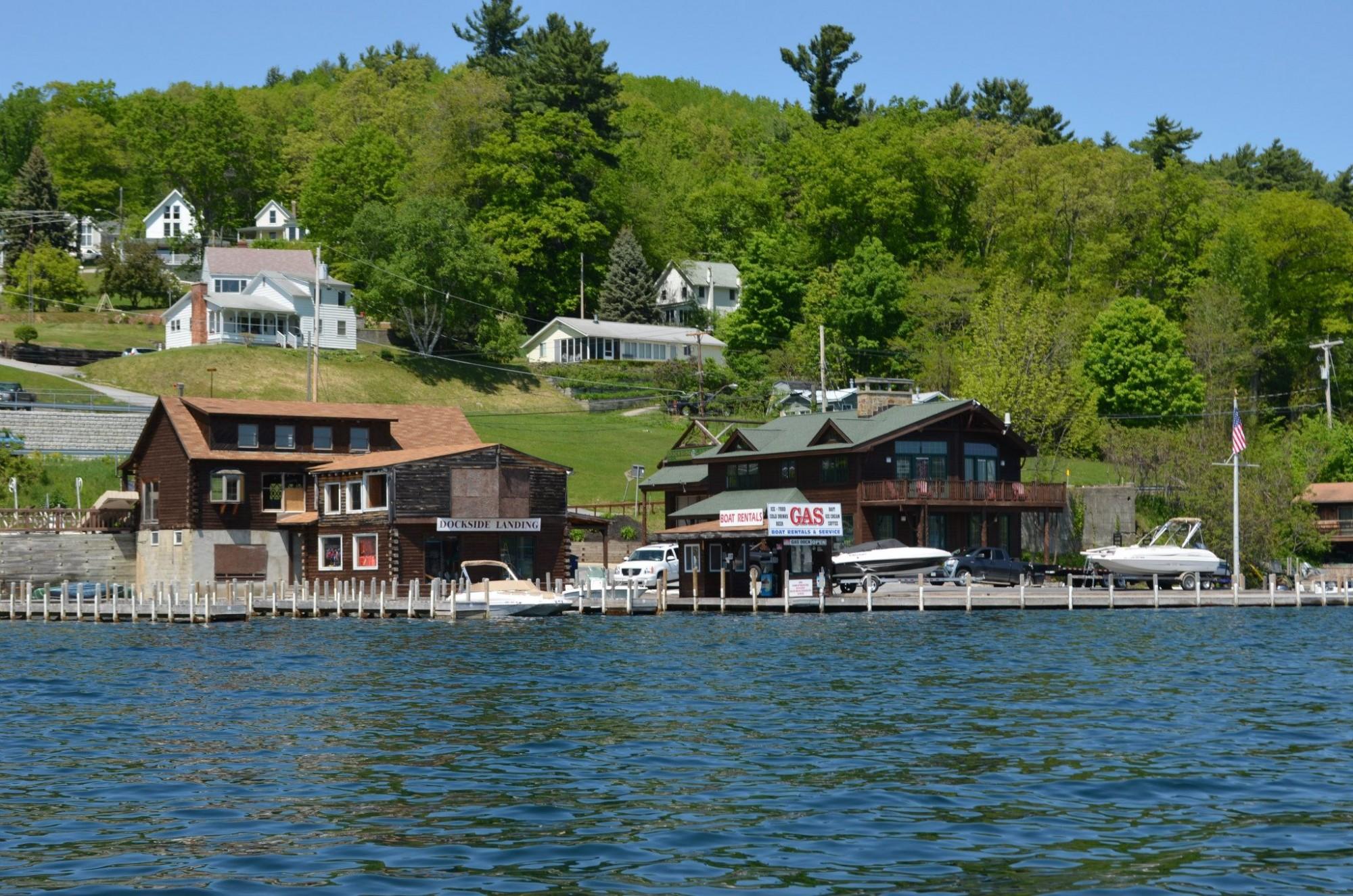 Dockside landing boat & yacht sales lake george ny 2014