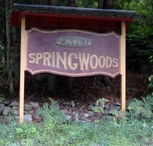 Spring Woods Entrance