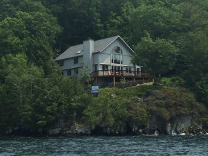 Main house from the water