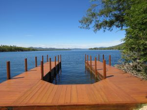 dock with grand view